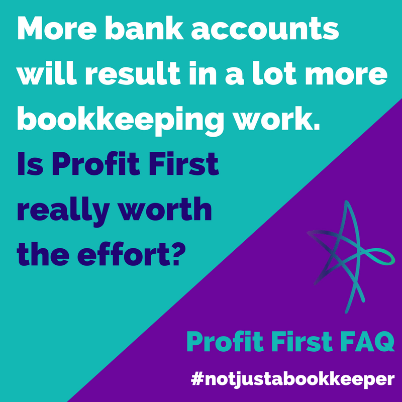 profit first faq bank accounts