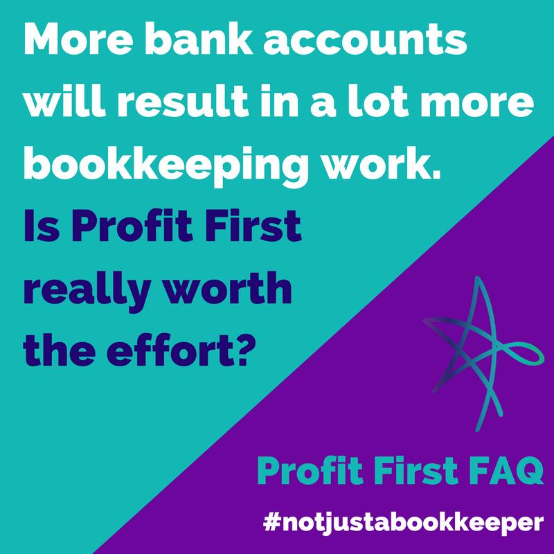 profit first faq bank accounts